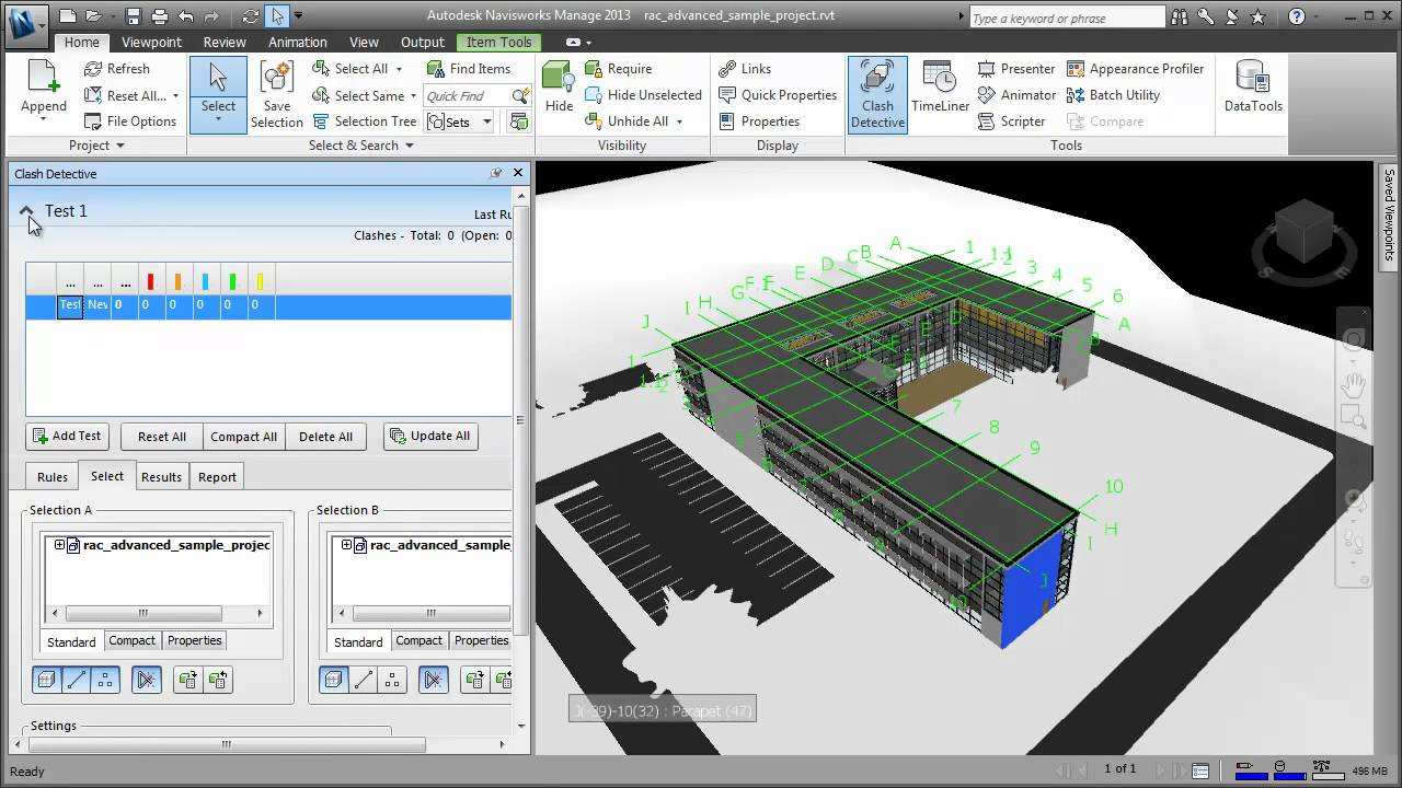 Naviswork Revit